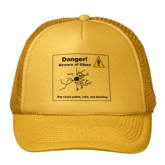 Danger - Beware of Glass Cap