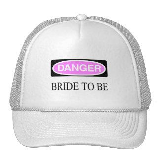 Danger (Bride To Be) Cap