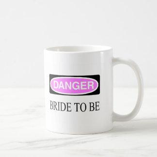 Danger (Bride To Be) Basic White Mug