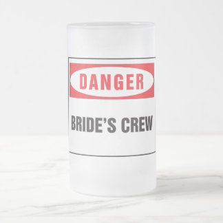 Danger bride's crew coffee mugs