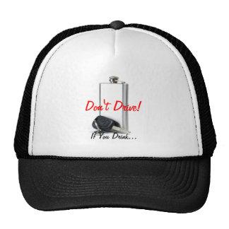 Danger combination mesh hat