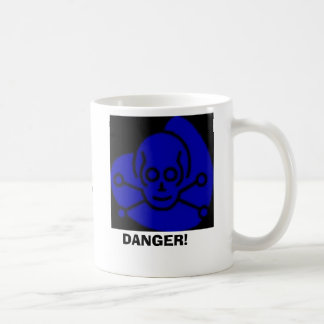Danger, DANGER!, Contains Dihydrous MonoxideHar... Coffee Mug