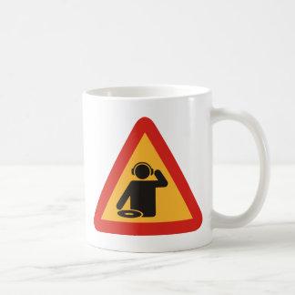 Danger DJs at Work Coffee Mug