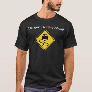Danger: Drifting Ahead (Dark) T-Shirt