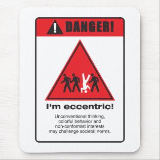 Danger! Eccentric Mouse Pad