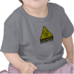 DANGER: EXPLOSIVE GASES - BABY T-SHIRTS