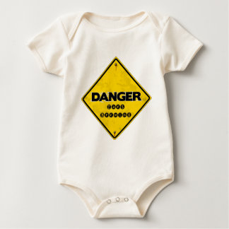 Danger Fart Brewing Baby Bodysuit