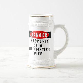 Danger!  FF Wife Coffee Mugs