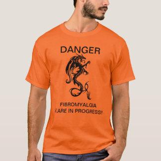 DANGER FIBROMYALGIA FLARE T-Shirt