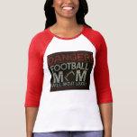 Danger! Football Mum Will Shout Loudly T-Shirt