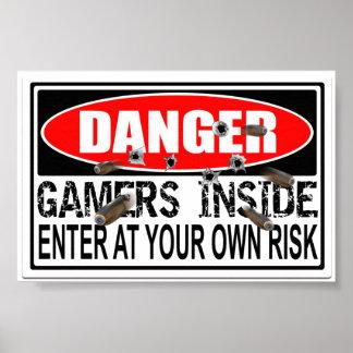 Danger Gamers Inside Print