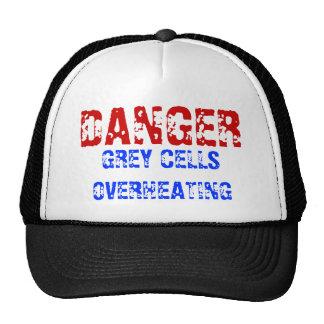 Danger - Grey Cells Overheating Hat