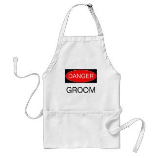 Danger - Groom Funny Wedding T-Shirt Mug Hat Apron