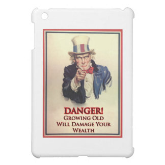 Danger Growing Old Uncle Sam Poster Case For The iPad Mini