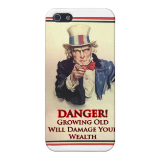 Danger Growing Old Uncle Sam Poster Case For The iPhone 5