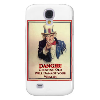 Danger Growing Old Uncle Sam Poster Galaxy S4 Case