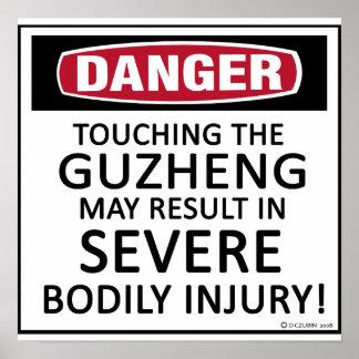 Danger Guzheng Posters