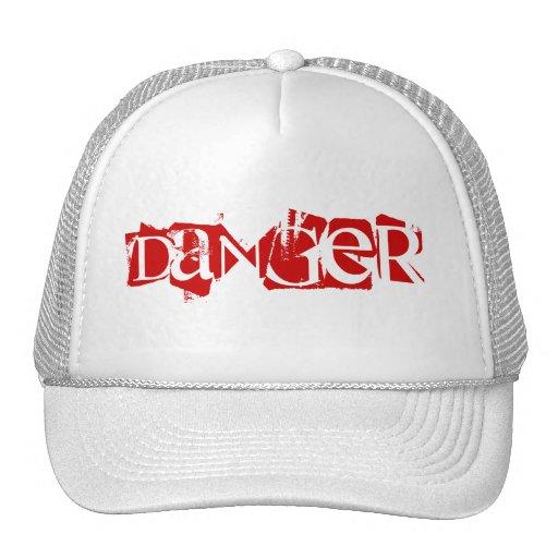 DANGER TRUCKER HATS