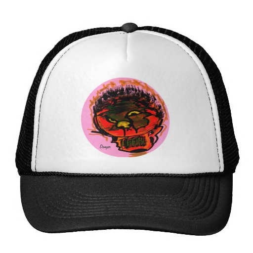 danger mesh hat