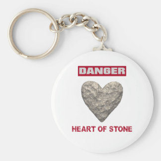 DANGER:  Heart of Stone Key Ring