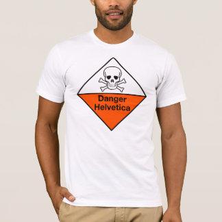 Danger: Helvetica shirt