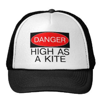Danger - High As A Kite Funny Safety T-Shirt Mug Trucker Hat