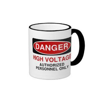 Danger High Voltage Mug