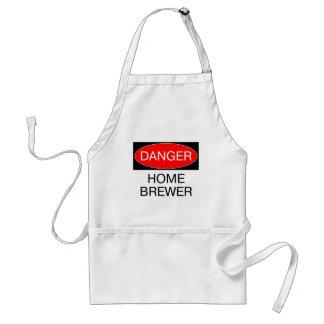 Danger - Home Brewer Funny T-Shirt Hat Mug Bag Standard Apron