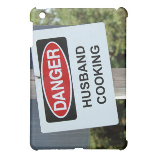 Danger Husband Cooking Sign Cover For The iPad Mini