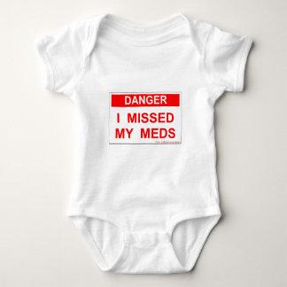 Danger - I Missed My Meds Tshirts