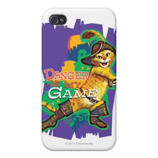 Danger Is My Game iPhone 4 Case