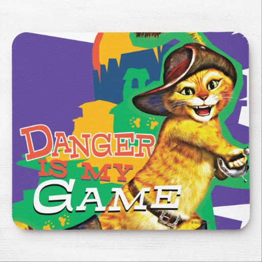 Danger Is My Game Mousepads