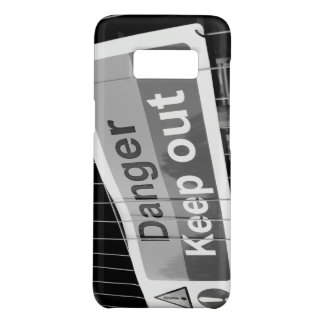 Danger Keep Out sign Case-Mate Samsung Galaxy S8 Case