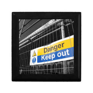 Danger Keep Out sign Gift Box
