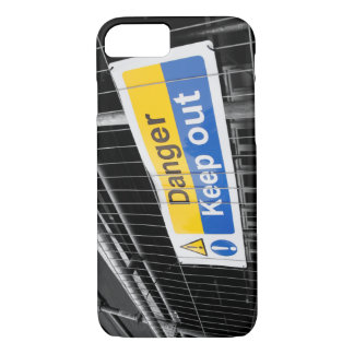 Danger Keep Out sign iPhone 8/7 Case