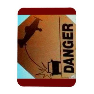 Danger! Low Flying Aircraft! Magnet