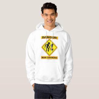 DANGER! MAN COOKING hoodie