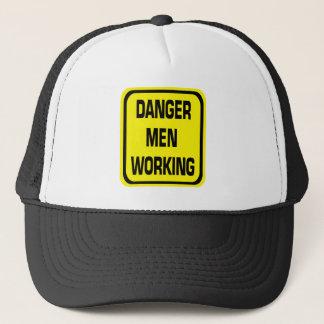 Danger Men Working Hat