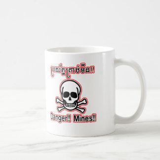 Danger Mines Mug