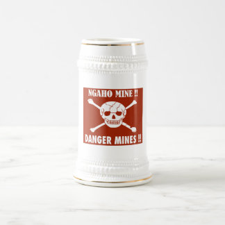 Danger Mines Sign, Burundi Mug