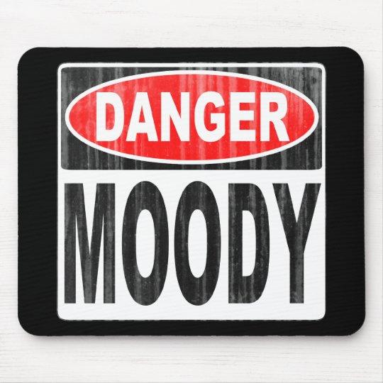 Danger Moody Mouse Mat