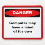 Danger mousepad