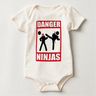 Danger Ninjas Baby Bodysuit