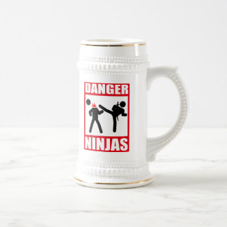 Danger Ninjas Beer Stein