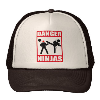 Danger Ninjas Trucker Hats