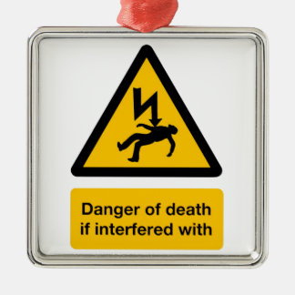 Danger of Death Christmas Ornament