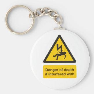 Danger of death Keychain