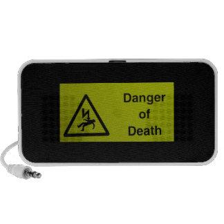 Danger of Death Laptop Speaker