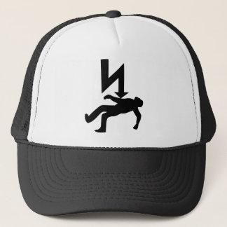 Danger of Electric Shock Symbol Trucker Hat