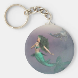 Danger of the Deep Keychain